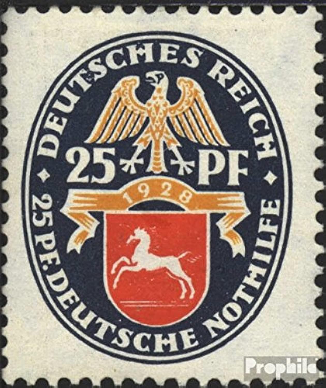 Prophila Collection Tedesco Empire 428X testati, Steing Filigrana 1928 Emergenza Crest (Francobolli per i Collezionisti)