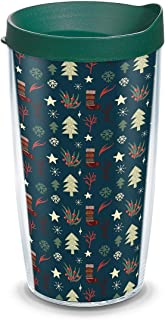 Tervis Christmas Forest Wrap with Hunter Travel Lid 16-Ounce Tumbler