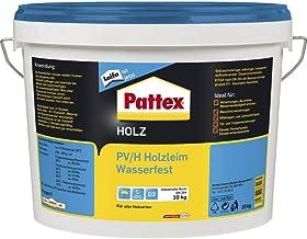 PATTEX 1487016 PV/H waterdichte houtlijm D3 10 kg, wit
