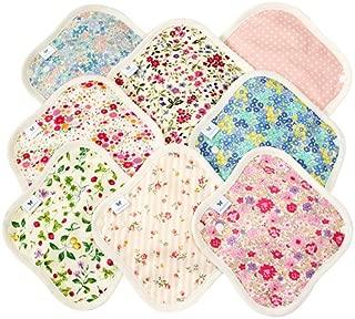 アウトレット品 | 布ナプキンと布ライナー 8枚 セット |布パンティライナー4枚+生理用ナプキン4枚 | 超熟睡 多い夜用 尿ケア 介護用