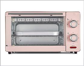 ZGHOME Mini Horno Eléctrico 11L Horno Multifunción Incluyendo Múltiples Funciones De Cocina, Control De Temperatura Ajustable Y Temporizador, 1000W,Pink