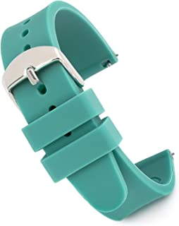 Speidel Scrub Watch Replacement 14mm Teal Silicone Rubber Band