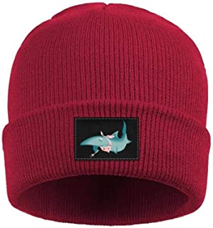 Men Women Youth Fine Knit Beanie are Sharks Just Really Angry Hat Skull Cute Hiking Winter Stylish.