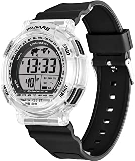 Sports Watch for Men,Multi-Functions Waterproof Digital Watch with 7 Colors Backlight