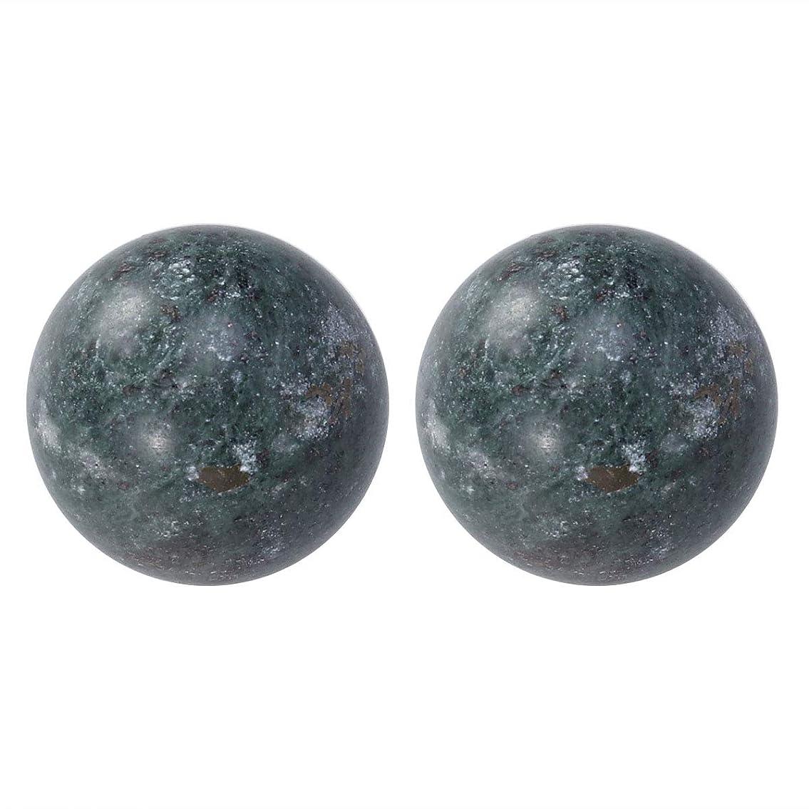 遠足病気のベイビーROSENICE ジェイドハンドボールエクササイズボールストレスレリーフ2個(ブラック)