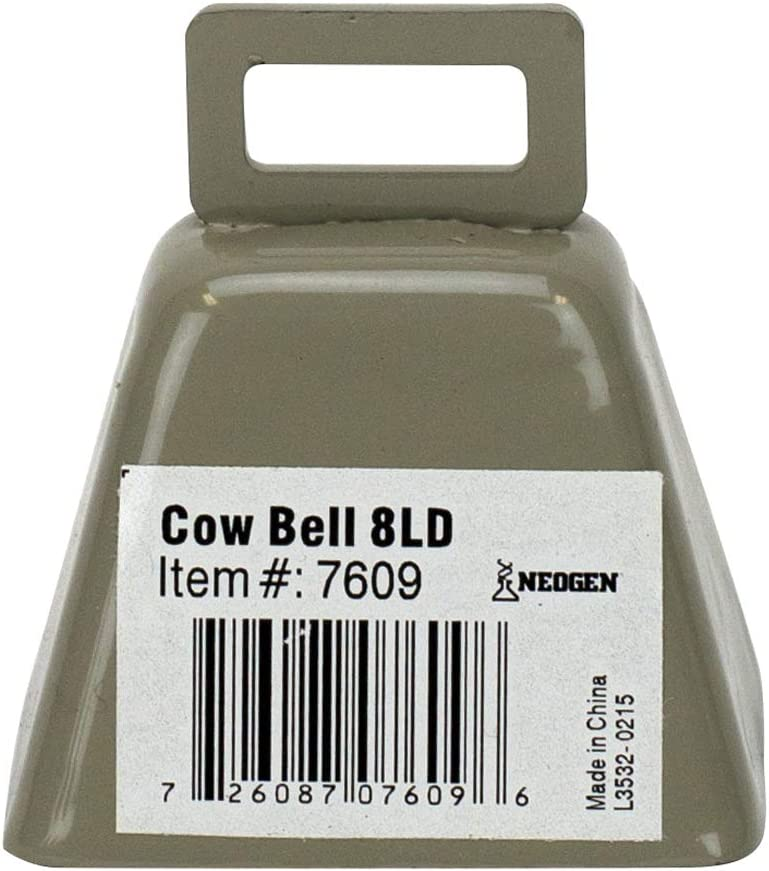 Neogen 7609 8LD Cow NEW Max 60% OFF before selling Bell Metal