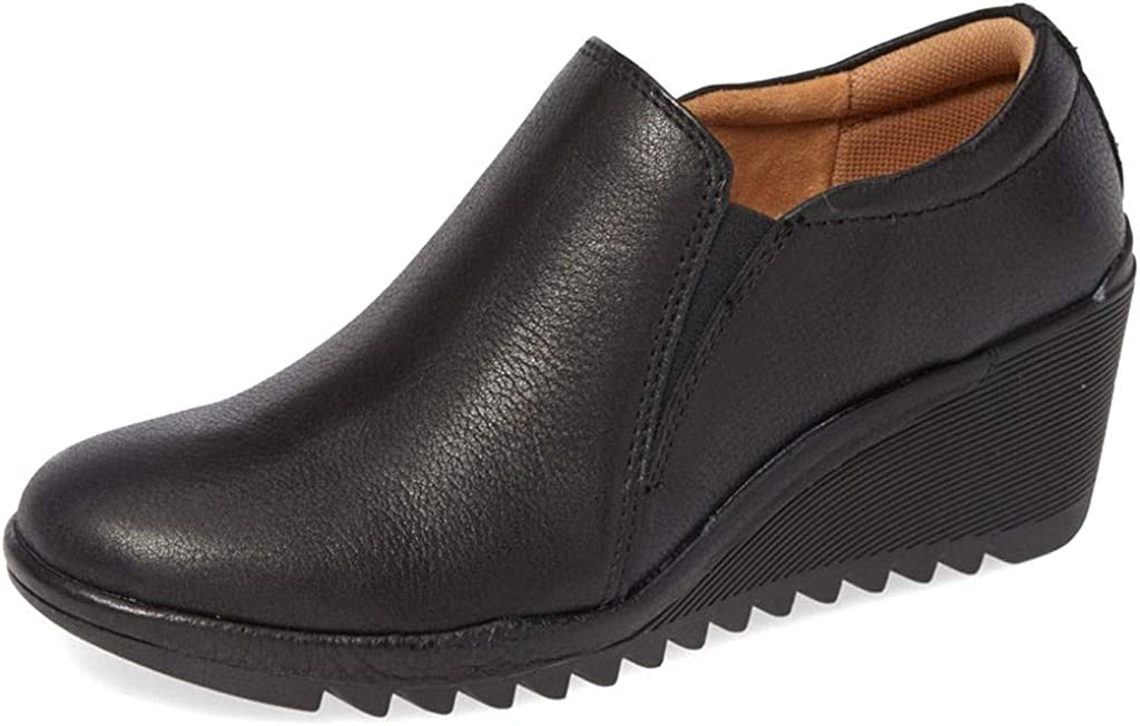 Comfortiva Womens Aniston Max Ranking TOP8 78% OFF Leather Clogs Toe Closed