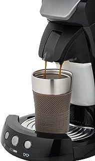 comprar comparacion Taza térmica para llevar – Taza de café para llevar – Coffee to go – encaja bajo cualquier cafetera automática, doble pare...