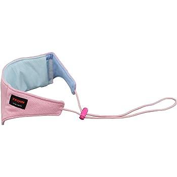 テイジン さわやか涼感ネッククーラー (クールジェル2個付) 高吸水繊維ベルオアシス+多機能性素材ナノフロント使用 ピンク 日本製