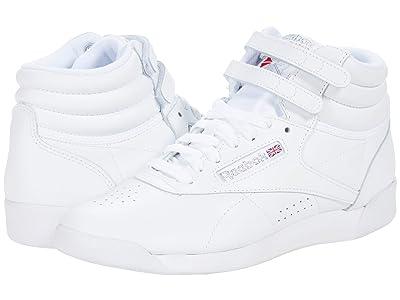 Reebok Lifestyle F/S Hi (White/Silver) Women