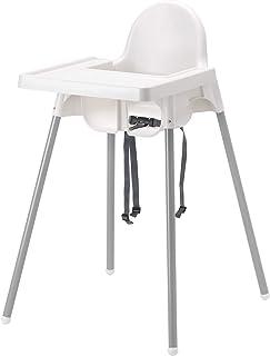 comprar comparacion IKEA ANTILOP - Trona con bandeja, plata color