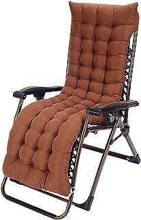 Cojines de silla gruesas al aire libre y grandes cojines suaves sólo pueden ser reemplazados con nuevos cojines portátiles, fundas antideslizantes, cojines balancín, -Holiday alisador de jardín del pa