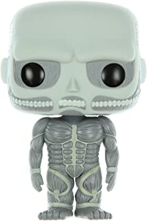 FunKo POP Anime: Attack on Titan - 6'' Colossal Titan Toy Figure - Exclusive Greyscale Edition