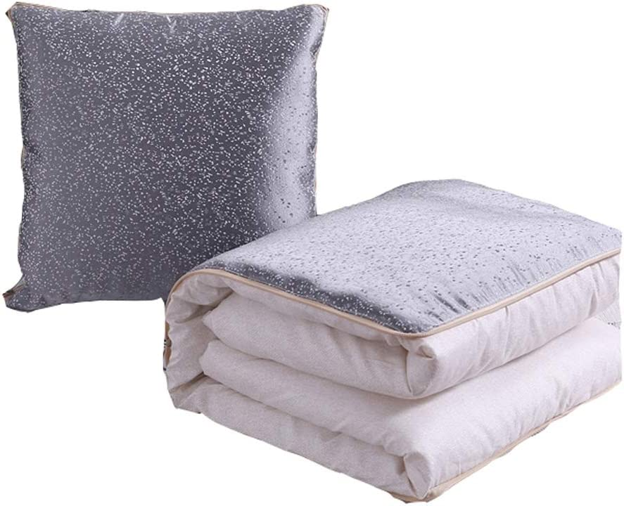 HXF Cushion Pillow Quilt Dual 2021 spring and summer new Break Bla Use Lunch Office Max 54% OFF