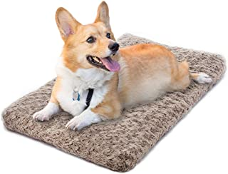MIXJOY Dog Bed Ultra Soft Crate Pad Home Washable Mat for Dogs and Cats Crate