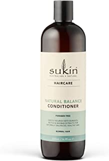 Sukin Natural Balance Hair Conditioner, 500ml