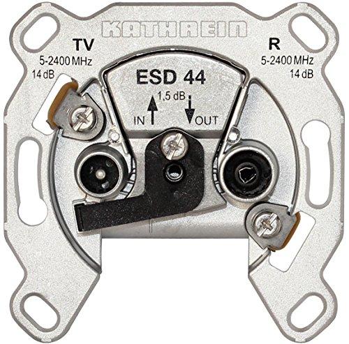 Kathrein ESD 44 Antennen-Steckdose, Durchgangstyp für BK und SAT