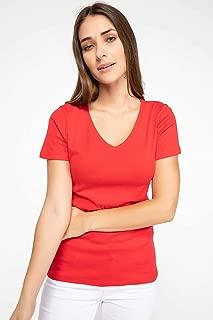 DeFacto Kadın Tişört Uzun Kollu T-shirt