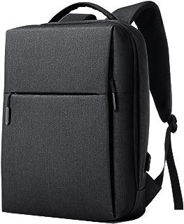 GLJ Backpack Male Leisure Multifunctional Men's Business Computer Bag Backpack (Color : Black)