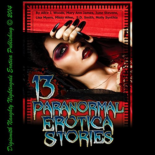 13 Paranormal Erotica Stories audiobook cover art