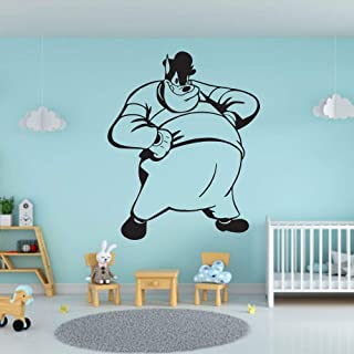 Peg Leg Pete Dog Mickey Mouse Friends Disney Cartoon Wall Sticker Art Decal for Girls Boys Kids Room Bedroom Nursery Kindergarten Fun Home Decor Stickers Wall Art Vinyl Decoration Size (15x12 inch)