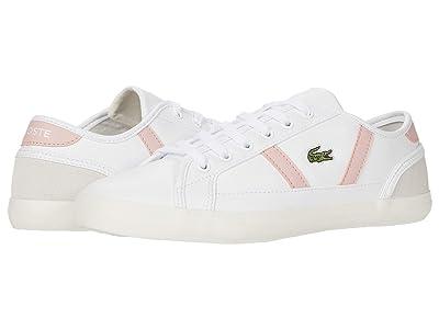 Lacoste Sideline 0120 1 CFA (White/Light Pink) Women