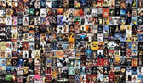 ZFB8B Rompecabezas Creativo Rompecabezas Señor de los Anillos Adultos Rompecabezas 1000 Pieza clásica de la película de Cine Pósteres Rompecabezas de Madera por Juguetes educativos Juegos