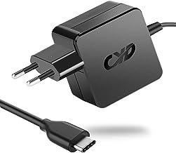 CYD 65W USB TYPE-C PD Cargador Ordenador Portatil para HP Hstnn-173c Lenovo yoga 5 920 ThinkPad-S2 ThinkPad X1 Carbon 2017 Xiaomi Air 12 13 MI Pad 2 Huawei MateBook X Pro Macbook A1534 alimentacion