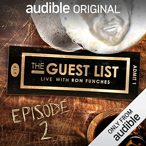 Ep. 2: Secret Agent (The Guest List) audiobook cover art