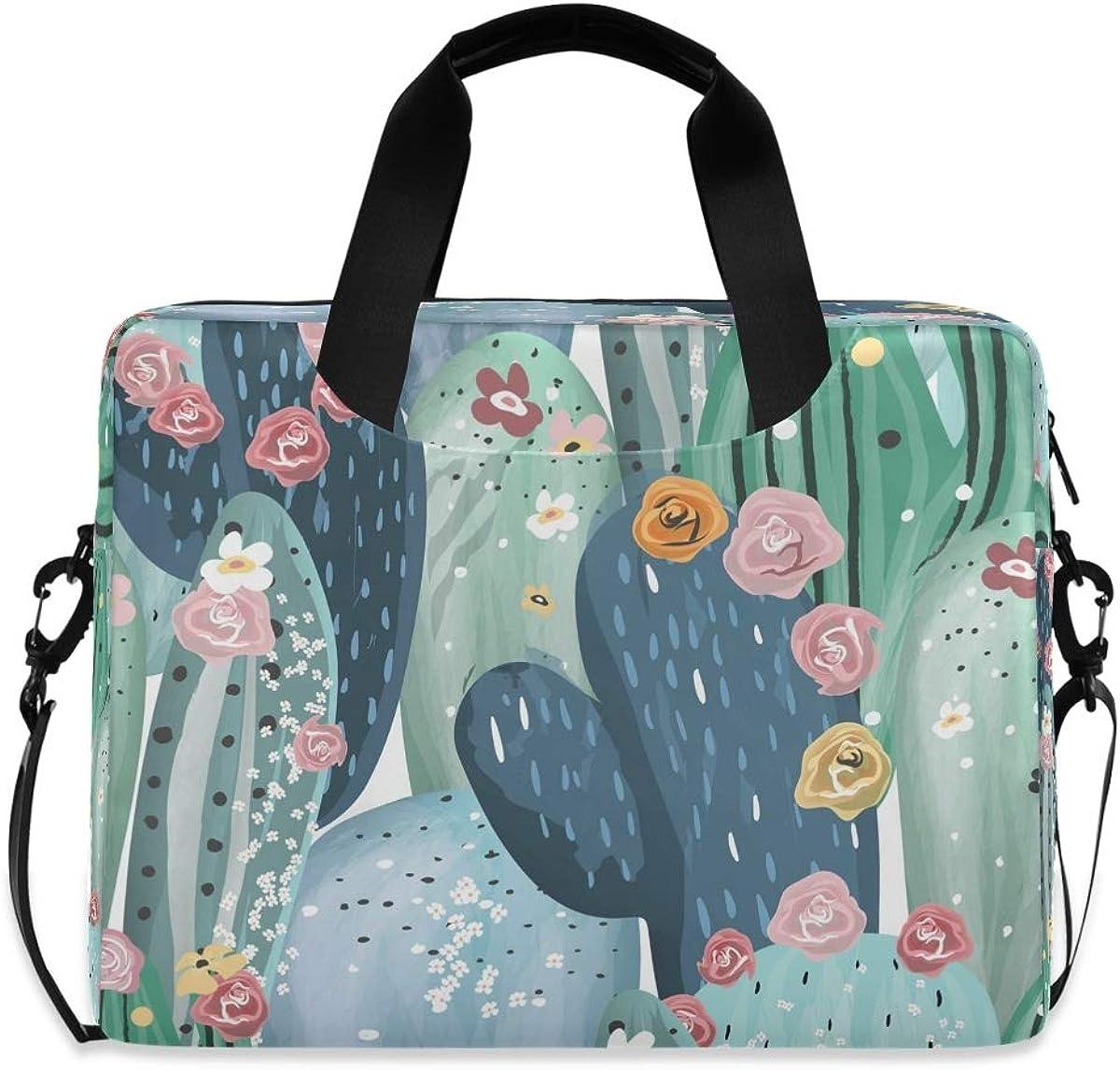 Manufacturer OFFicial shop LELEGO We OFFer at cheap prices Cactus Pattern Floral Plants B Bag Laptop Shoulder