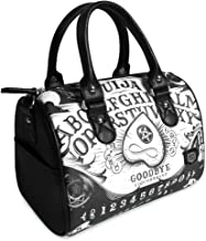 Liquorbrand Ouija Board Black Overnight Weekender Carry-On Travel Tote Bag