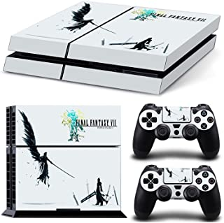 PlayStation 4 Protective Skin Decal Sticker Set - Final Fantasy 7 Style 2