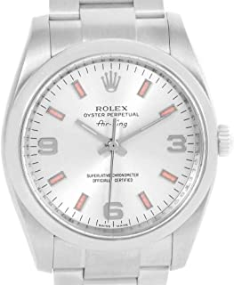 Rolex Air-King Automatic-self-Wind Male Watch 114200 (Certified Pre-Owned)
