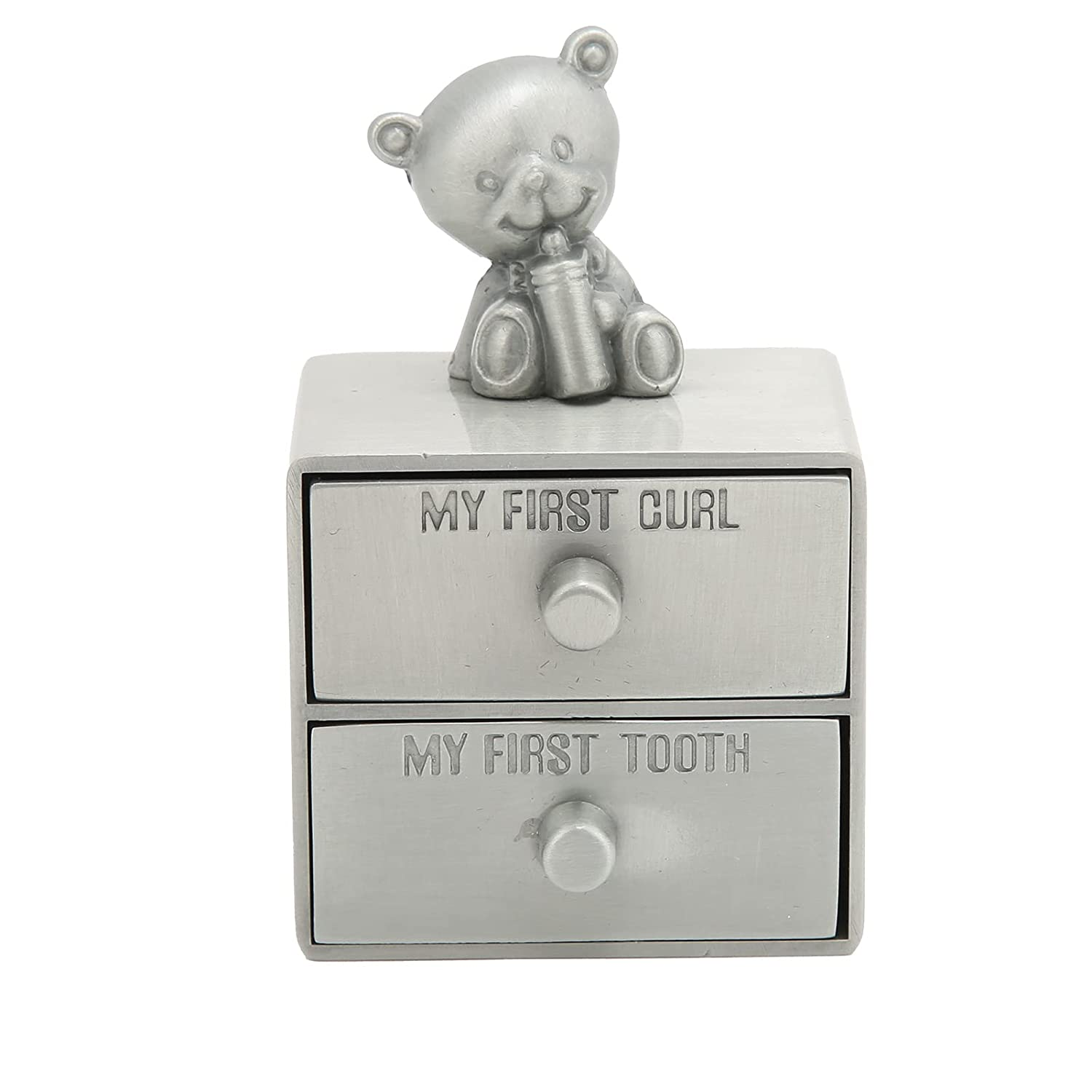 Baby Tooth Box European Metal New Luxury Free Shipping Case Cute with Storage Bear-Shape