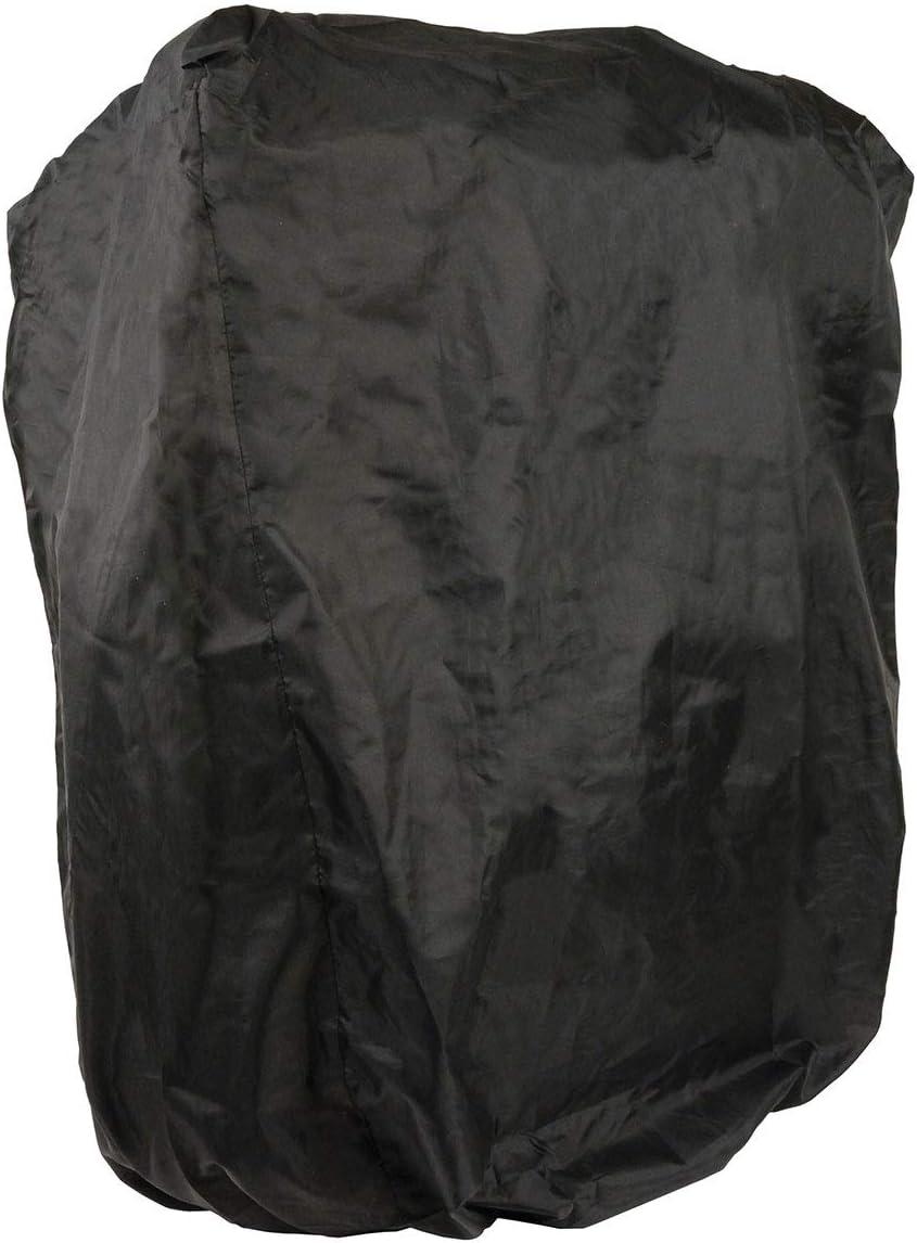 One Size XS8000 Black Leather Motorcycle Luggage Travel Backpack Rucksack Sissy Bar Bag