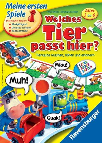Ravensburger - 21423 5 - Jeu - Qui Adapte L'Animal?