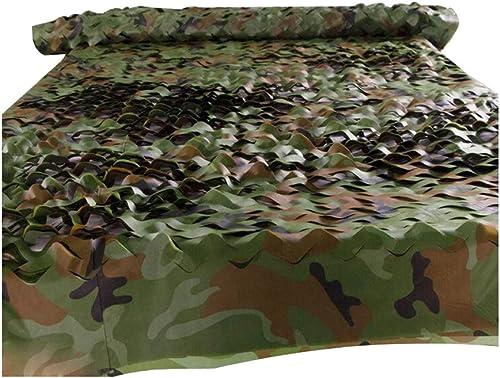 Filet de camouflage militaire, filet de camouflage de l'armée boisland en tissu Oxford pour chasse, camping, filet de prougeection solaire, filet de chasse, store léger, durable 3x6m
