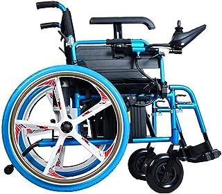 De peso ligero plegable sillas de ruedas eléctrica Sillas de ruedas eléctricas, Silla de ruedas eléctrica inteligente de peso ligero plegable compacta fuente de silla ligera plegable Realizar motoriza