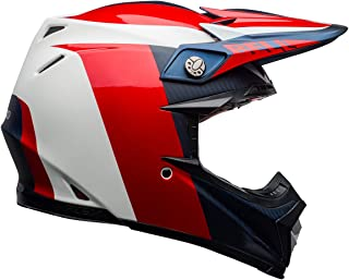 Bell Moto-9 Flex Off-Road Motorcycle Helmet (Division Matte/Gloss White/Blue/Red,  XX-Large)