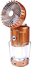 LEMORTH Outdoor Solar Lifting en Stretching Elektrische Ventilator 6 in 1 Draagbare LED Camping Lantaarn met Ventilator Dr...