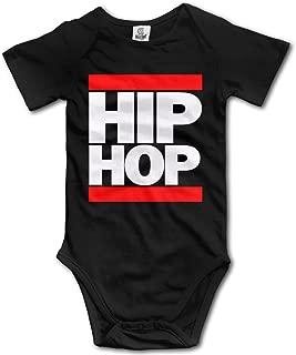 Hip Hop Newborn Infant Baby Clothes T-Shirt Playsuit Union Suit Baby Short-Sleeve Bodysuit