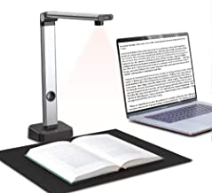$74 » JOYUSING 14MP HD Book & Document Scanner, Auto-Flatten & Capture Size A3, Smart Multi-Language OCR, Pdf, for Office and Ed...