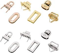 Turn Lock Fastner,Purse Twist Lock,1 pcs Purse lock twist purse turn lock clutch clock
