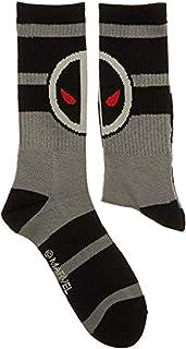 Bioworld Marvel Deadpool X-Force Crew Socks