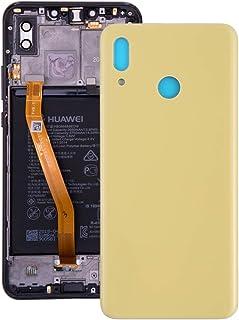Back Cover for Huawei Nova 3(Black) HuSunall (Color : Yellow)