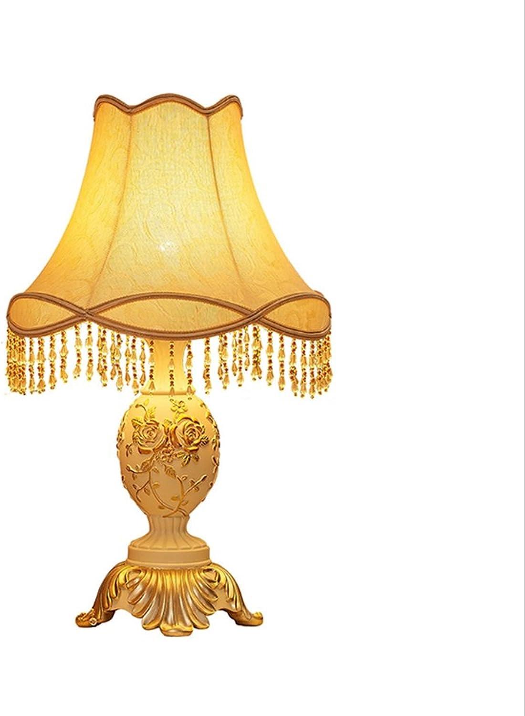 Vious 3D Geprägte Muster Europäische Tischlampe Licht Und Weiche Schlafzimmer Tischlampe (hohe 62cm  E27  LED) B0768LF8FV     | Verkauf Online-Shop