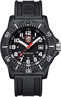 Luminox - Black Ops 8880 series Watch with carbon compound Case Black|White Dial and PU Black Strap XL.8881