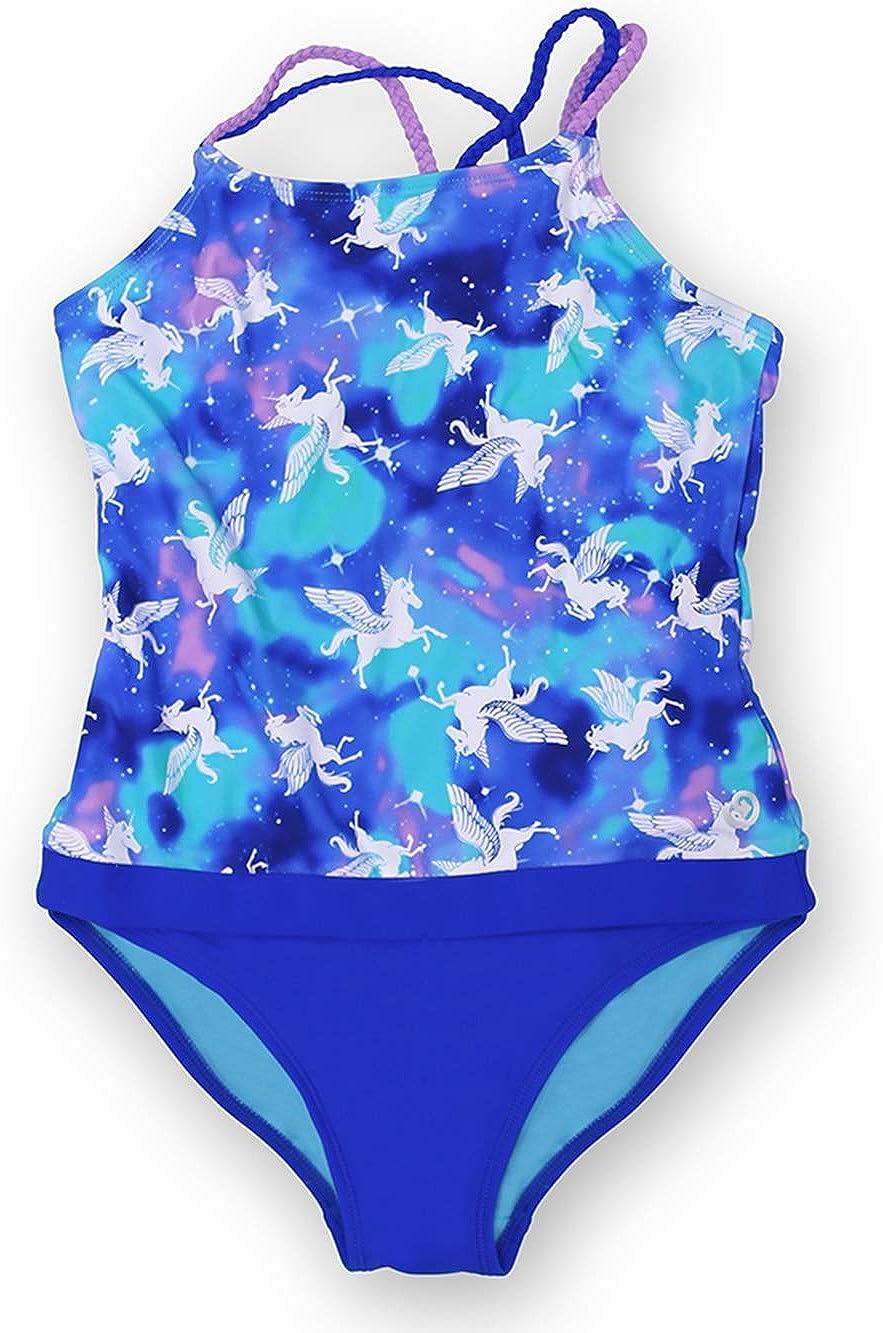 新作 大人気 wowease Patented Little Girls Galactic お気にいる Ma Bathing-Suit One-Piece