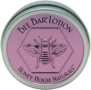 Honey House Naturals Small Bee Bar Lotion, Lavender, 0.6 Ounce
