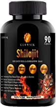 GLOWSIK Shilajit extracts with safed musli & ashwagandha (90-capsules) 1000 mg 100% pure for power, strength and stamina …